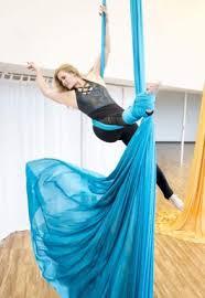 beginner aerial silks work