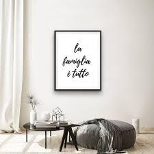 """la famiglia è tutto (Italian) """"the... - NJ Printing Press"""