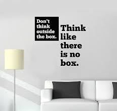 Vinyl Wall Decal Motivation Office Quote Inspirational Words Stickers G1624 Ebay