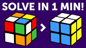 solve a 2x2 rubik s cube in a minute