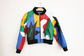 vintage 90s hip hop living color block
