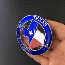 1 Pcs Metal 3d Texas Mason Logo Car Body Emblem And Decals Car Stickers For Jeep Suv Car Decoration Car Accessories Car Styling Car Stickers Aliexpress