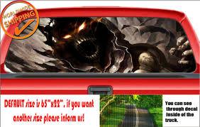 W758 Scarecrow Disturbed Oblivion Batman Comic Car Decal Sticker Rear Window For Sale Online Ebay