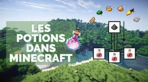 les potions dans minecraft guide