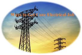 ways to get electrical core jobs