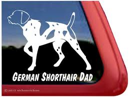 German Shorthair Pointer Gun Dog Decals Stickers Nickerstickers