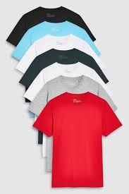 red mix regular fit crew neck t shirts