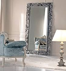 popular large decorative floor mirrors