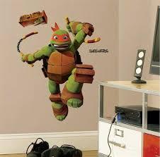 Teenage Mutant Ninja Turtles Giant Michelangelo Wall Decal Stickers Kids Da C Cor For Sale Online