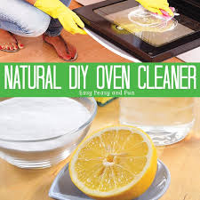 natural homemade oven cleaner that