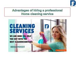 Benefits of hiring a home cleaning services