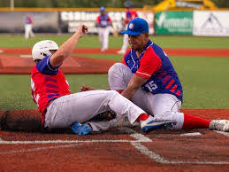 Former Aggie catcher Aaron Walters playing well behind plate at CSBI    Sports   theeagle.com