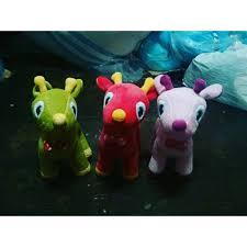 Boneka mainan anak super cute baby free heart with ratter SNI NEW ...