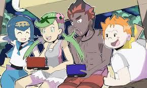 RetroRobosan, Trial Captains Playing Pokemon Sun and Moon ...