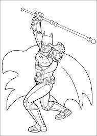 Batman Kleurplaat Printen 43