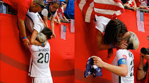 Abby Wambach kisses wife after World Cup win - CNN