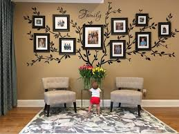 Tree Wall Mural Decal Family Ideas Black And White Design Aspen Wolf Christmas Wallpaper Diy Vamosrayos