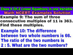 class 8 example 9 example 10 math