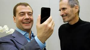 Russian Prime Minister Dmitry Medvedev Wears an Apple Watch - ABC News