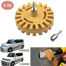1 Decal Remover Rubber Eraser Wheel Tool Removing Pinstripes Stickers Polishing Eraser Car Decals Vinyl Sticker Removal