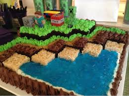 Minecraft Cakes For Birthdays Minecraft Birthday Cake 3 Con