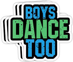 Amazon Com Grayfoxxy Boys Dance Too Funny For Theatre Fans Gift Decorations 4x3 Vinyl Stickers Laptop Decal Water Bottle Sticker Set Of 3 Kitchen Dining