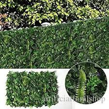 2020 Ivy Leaf Hedge Artificial Privacy Fence Screen Expanding Boxwood Panel For Wall Garden Outdoor Indoor Decor 40x60cm From Artificiafloralshop 10 15 Dhgate Com