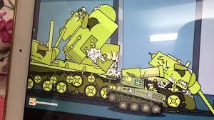 Xe tăng kb-6 được lên cấp mới (phim hoạt hình xe tăng ) - YouTube
