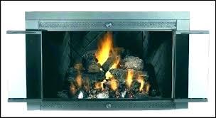 gas fireplace glass doors womenia co