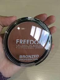 freedom makeup london bronzed