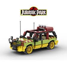 Lego® Custom Instructions Jurassic Park Explorer - Lego Instructions -  MocsMarket