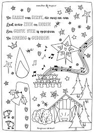 063 De Kaars Van Kerst Kleurversjes Nl