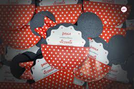 Tarjeta De Invitacion Mickey Mouse Minnie Mouse Invitaciones
