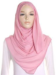 Rose Pink Plain Jersey Hijab – Hijab Store Online