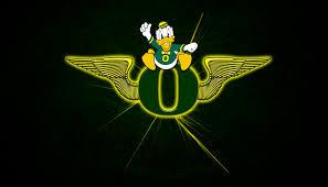 oregon ducks wings wallpaper logo