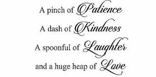 A Pinch Of Patience Dash Kindness Love Kitchen Decal Wall Art Sticker Picture 14 55 Picclick