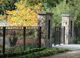 Firm Metal Fence And Railing Ideas For Added Elegance Ideas 4 Homes