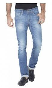 slim tapered fit light blue mid rise