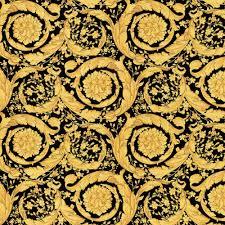flowers wallpaper black gold
