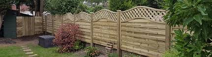 How To Erect Garden Fence Panels Avs Fencing Supplies