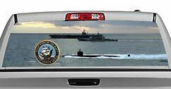 Truck Rear Window Decal Graphic Military Navy Fleet 20x65in Dc03308 Ebay