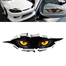 High Quality 1 Pcs Car Styling Funny 3d Eyes Car Sticker Waterproof Peeking Monster Decals Stickers In Car Stickers From Automobiles Motorcycles On Aliexpress Com Alibaba Group