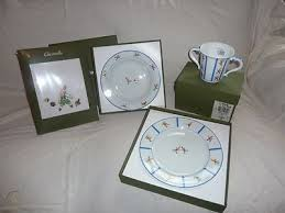 porcelain christofle baby gift set