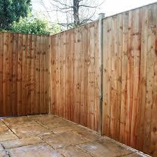 Featheredge Fence Panels 6ft X 5ft Sb Building Supplies Ltd