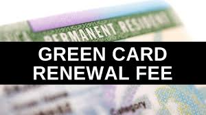 green card renewal fee in 2020 the