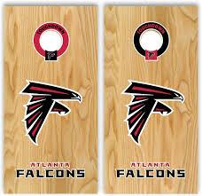 Amazon Com Set Of Atlanta Football Decal 17 For Cornhole Falcons Everything Else