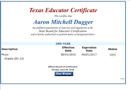 Professional Documents - Aaron Dugger