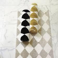 black white rug rugs
