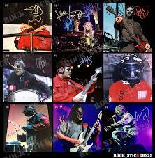 Slipknot Autographs Stickers Rockstickers23