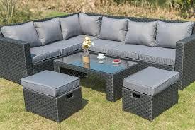 rattan outdoor sofa set wowcher